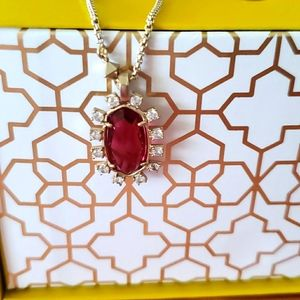 Brand new Kendra Scott Brett Necklace Berry